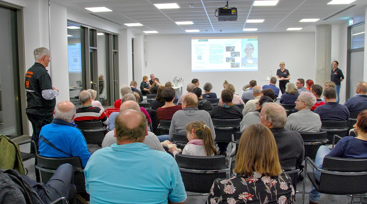 Informationsveranstaltung bei der igefa in Panitzsch am 03.02.2020